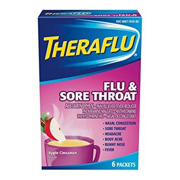 Taking Benadryl With Theraflu