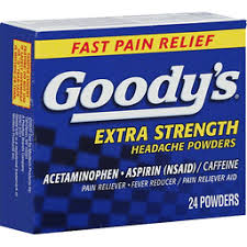 Taking Goody's Headache Powder With Gabapentin