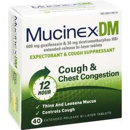 Taking Mucinex DM With Tylenol Cold And Head Congestion