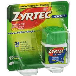 Taking DayQuil With Zyrtec (Cetirizine)