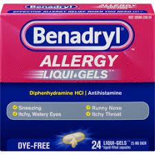 Taking Benadryl With Mylicon