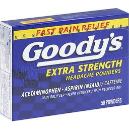 Taking Percocet (Oxycodone/APAP) With Goody's Headache Powder