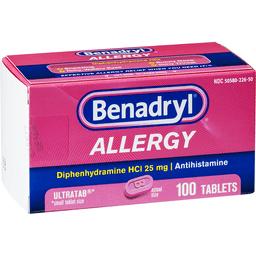 Benadryl (Diphenhydramine) With Sudafed (Pseudoephedrine) Interaction