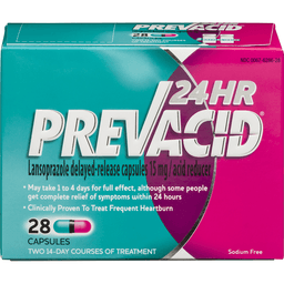 Taking Benadryl With Prevacid