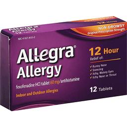 Taking Benadryl With Allegra