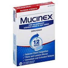 Taking Claritin With Mucinex