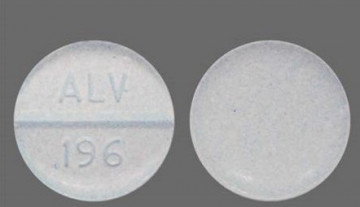 What Is The Oxycodone Tablet Imprinted With ALV 196
