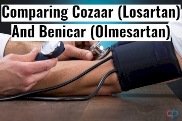 Comparing Benicar And Cozaar Doses