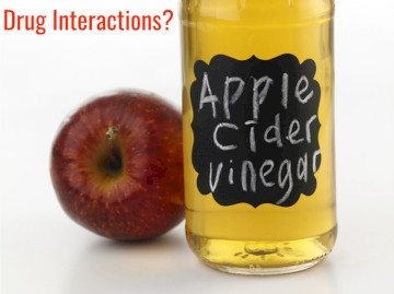 Apple Cider Vinegar With Gleevec