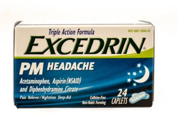 Taking Benadryl With Excedrin PM