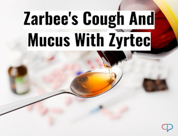Zarbee's Cough And Mucus With Zyrtec