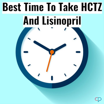Best Time To Take HCTZ And Lisinopril