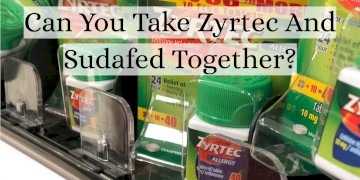 Can You Take Zyrtec With Sudafed?