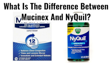 The Difference Between Mucinex And NyQuil