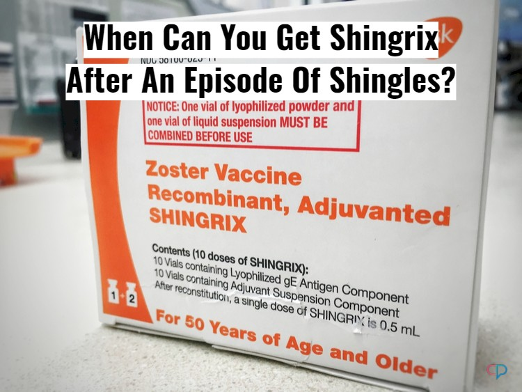 Shingrix Manufacturer Box With Text Overlay