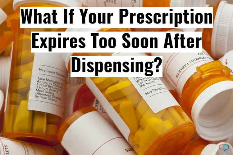Prescription Bottles With Text Overlay