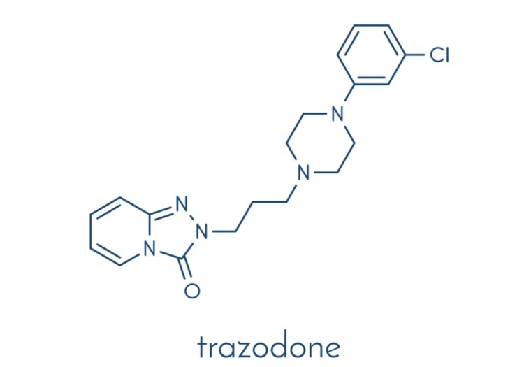 Trazodone Chemical Structure