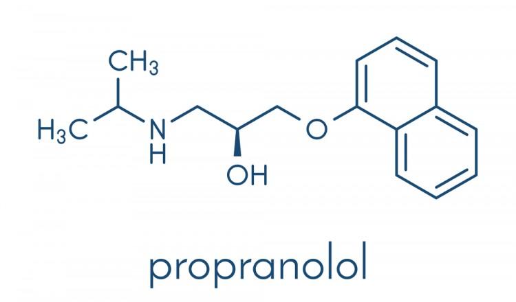 Propranolol Structure