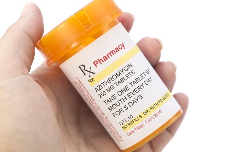 Azithromycin Bottle