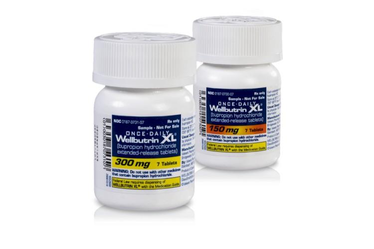 Wellbutrin XL Bottles 150 and 300 Side By Side