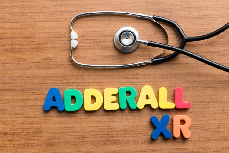 Adderall XR Wood Background