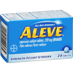 How Long Does Aleve (Naproxen) Last?